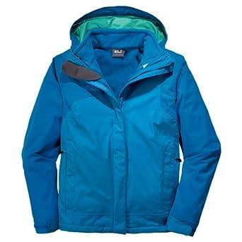 Jack Wolfskin Damen 3in1 Jacke Cool Wave | Kleidung, Schuhe