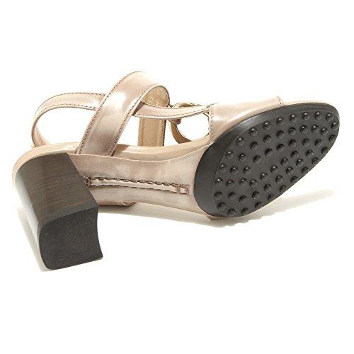 donna shoes TOD'S women scarpa 42778 Tortora TODS sandalo wqp67wIA