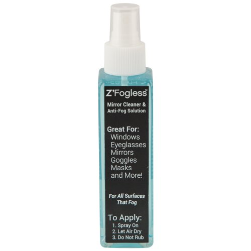 Zadro ZSP2 Fogless Anti-Fog Spray - 4 Ounces (2 Pack)