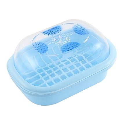 El Bano Azul.Amazon Com Edealmax Plastico Cubierta Para El Bano Caso