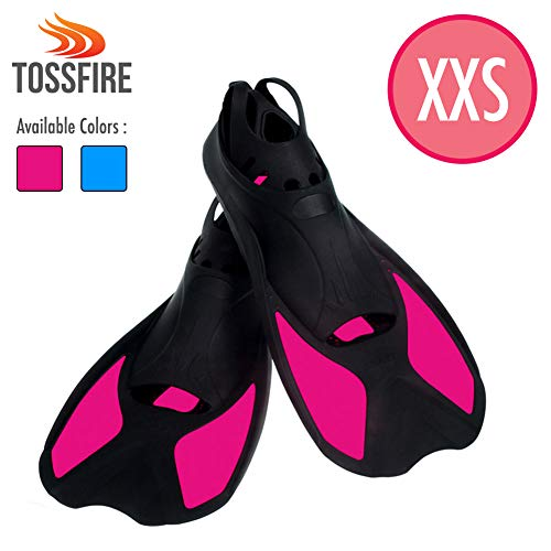 TOSSFIRE Snorkeling Fins for Kids Woman size XXS | Product