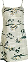 Plumeria Island Women's Empire Slip Cotton Sundress