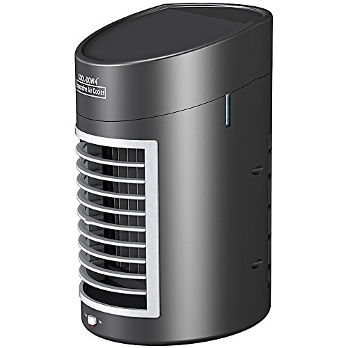 Battery Operated Kool-Down Mini Evaporative Air Cooler w/ Quiet 2 Speed Fan - 2 Speed Evaporative Cooler