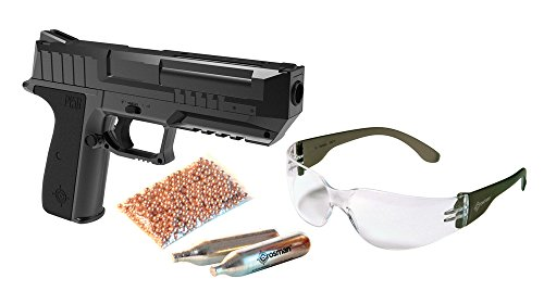 Crosman P15BKT Semi Auto Glasses Powerlets