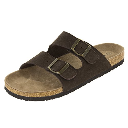 Northside Men's Phoenix Sandal, Dark Brown, 10 D(M) US ()