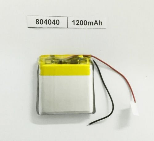 Ofeely 3.7v 1200mah 804040 Polymer Li Ion Battery Lipo Rechargeable for GPS Tablet PC