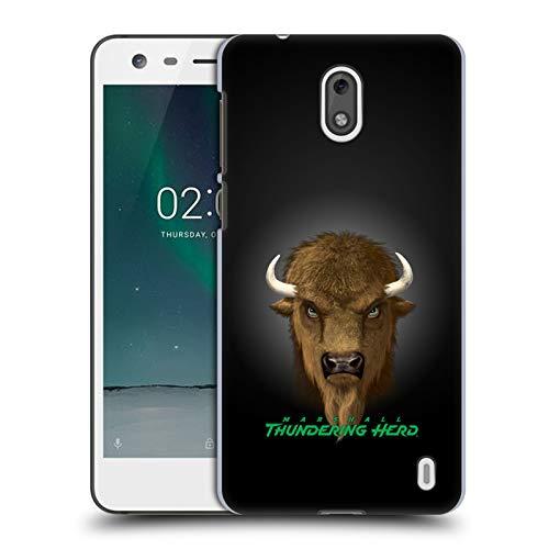 (Official Vincent HIE Marshall University Collegiate Varsity Hard Back Case Compatible for Nokia 2)
