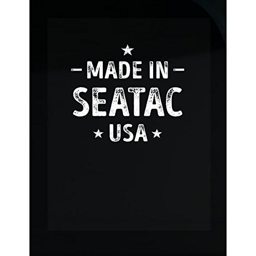 Inked Creatively Made in SeaTac City USA Sticker]()