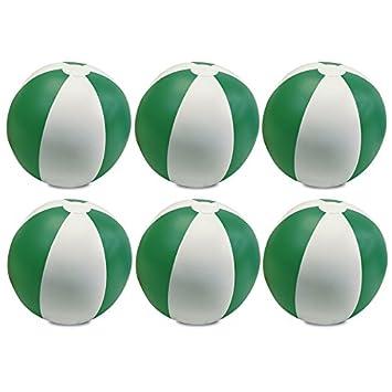 eBuyGB 1304309–6 aufblasbar Farbe beach Ball Spiel, grün, 9 Zoll ...