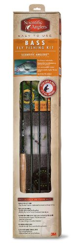 Scientific Anglers Bass Fly Fishing Starter Kit (7/8 Weight) by Scientific Anglers