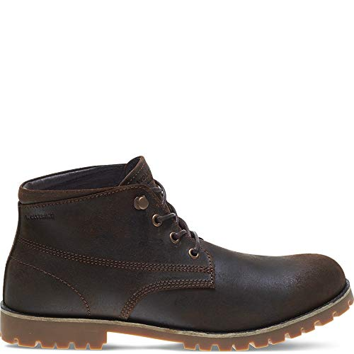 79f223d60e3 Wolverine 1883 Men's Cort WPF Leather Chukka, Brown, 9.5 M US
