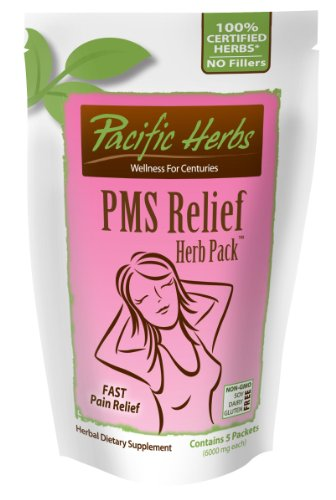 Cheap Pacific Herbs PMS Herb Pack, Relief for All Your Menstrual Cycle Related Symptoms, Pack of 5