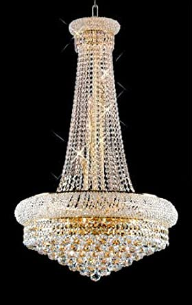 Swarovski crystal trimmed chandelier french empire crystal swarovski crystal trimmed chandelier french empire crystal chandelier chandeliers h50quot mozeypictures Images