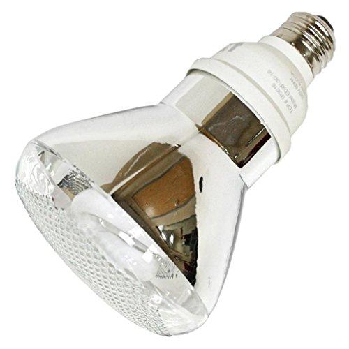 Fluorescent 16 Par30 Watt Reflector (TCP 1P301641K CFL PAR30-65 Watt Equivalent (16W) Cool White (4100K) PAR Flood Light Bulb)