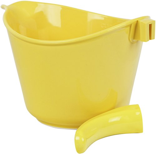 Reston Lloyd Calypso Basics 2-Quart Microwave Safe Batter Bowl, Lemon