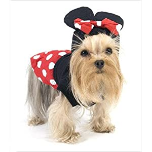 "Puppe Love Mouse""Minnie"" Costume For Dogs - Size 3 (10.75"" x 14"" - 16"" g)"