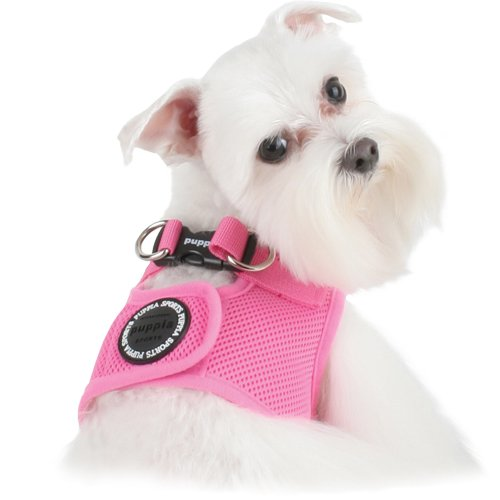 "Puppia Dog Mesh Harness ""Vest Soft"" XLarge Pink, My Pet Supplies"