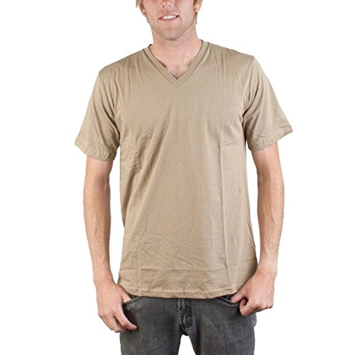 Element - Silverlake Chino Adult V-Neck T-Shirt - Small by Element