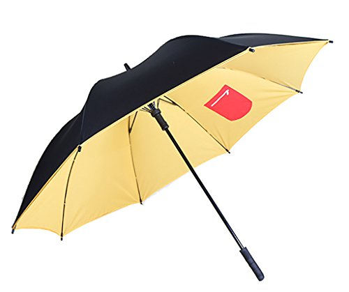 Generic Maximum Protection Umbrella Size 55inch Color Black by Generic