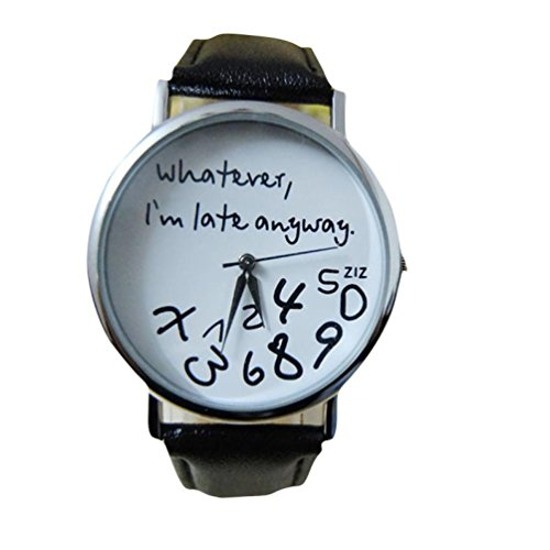 womens-watch-gillberry-1pc-hot-women-leather-watch-whatever-i-am-late-anyway-letter-watches