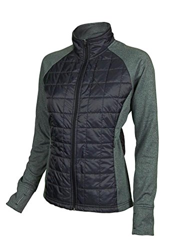 - Club Ride Apparel Women's Two Timer Insulated Cycling Jacket (Raven, Large)