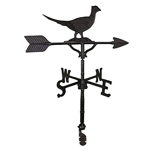 (Nemstore Black Pheasant Weathervane - 32 in. Black Pheasant Weathervane - 32 in. )