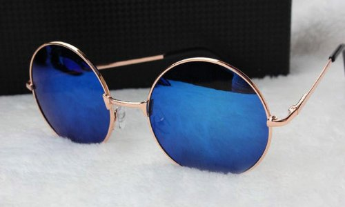 TRURENDI Hippie Shades Hippy 60S John Lennon Style Vintage Round Sunglasses Fancy Dress - Shades Lennon