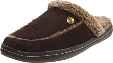 Woolrich Women's Heartwood Scuff Slipper,Chocolate ,X-Large/9.5-10 M US