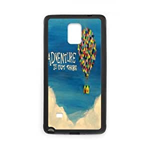 Samsung Galaxy S4 Phone Case Black Adventure Is Out There VGS6997742