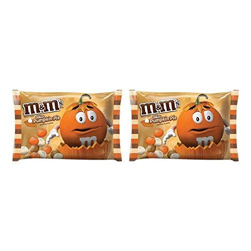 (M&M'S Halloween White Pumpkin Pie Fall Harvest Blend Chocolate Candy 8-Ounce Bag - 2)