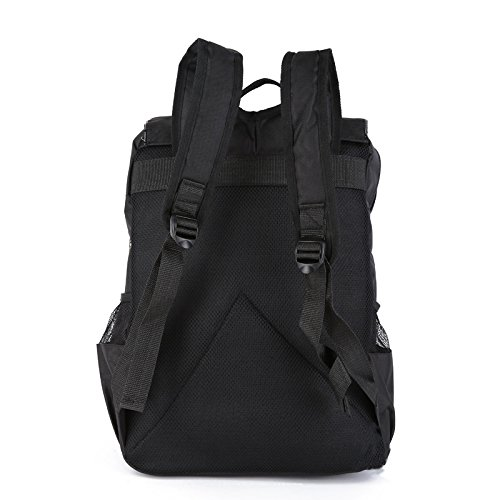 For Gold Shoulder Storage Dayback and Men Travel Camping Personalized Outdoors HSVCUY Adjustable Leaves Strap Backpack Women School PwOqTzHY