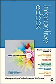 Entrepreneurship Interactive Ebook The Practice And Mindset
