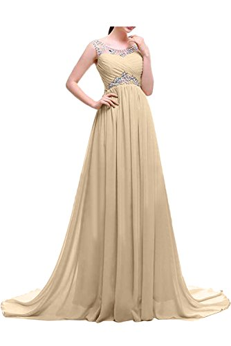 Steine Chiffon Hellblau Festkleider Damen Lang Ivydressing Abendkleider Elegant Ballkleid Promkleid qxg1RnXw