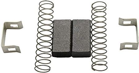 Balais de charbon pour Bosch ponceuse excentrique 5/x 8/x 15/GEX 150/AC//3107/DVS