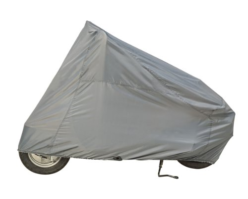 Guardian By Dowco - Indoor/Outdoor Scooter Cover - Lifetime Limited Warranty - ClimaShield Fabric - Water Resistant - UV Protection - Gray - Medium [ 50010-00 (2009 Rain Cover)