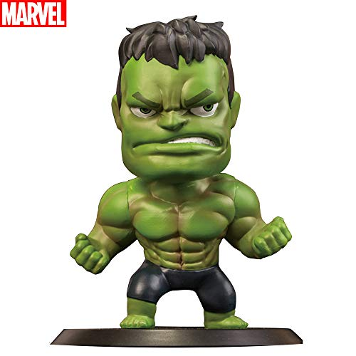 TinPlanet Marvel Avengers Endgame Green Hulk Action Figure Collectible, Car Decoration Bobble Head Doll, 5.5 Inches ()