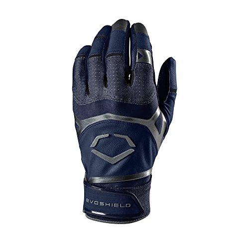 EvoShield Adult XGT Batting Gloves, Navy - X-Large