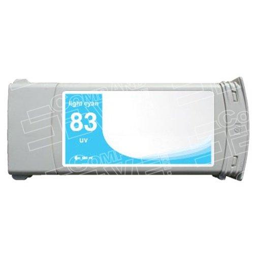 CompAndSave Replacement for Hewlett Packard (HP) C4944A (HP 83) Pigment Light Cyan Ink Cartridge - (C4944a Light)