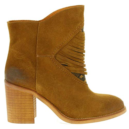 Botines C24582 94228 Caramelo Mujer S Mtng De Lindau wCqfwSv