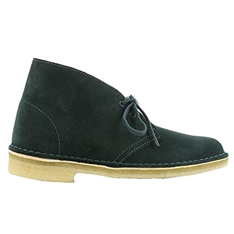 Clarks Originals Womens Desert Green Suede Boots 8.5