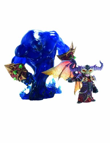 World of Warcraft: Premium Series 2: Gnome Warlock: Valdremar with Voidwalker Voyd Action Figure