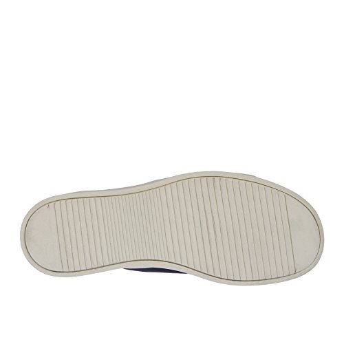 RICK OWENS Sneaker Nera con Profilo Bianco - 41