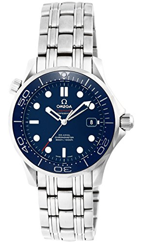 Omega Automatic Wrist Watch (Omega Men's 'Seamaster300' Swiss Automatic Stainless Steel Sport Watch, Color:Silver-Toned (Model: 21230362003001))