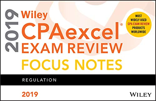 (Wiley CPAexcel Exam Review 2019 Focus Notes:)