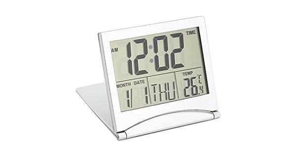 Amazon.com: CoCocina - Reloj digital con pantalla LCD ...