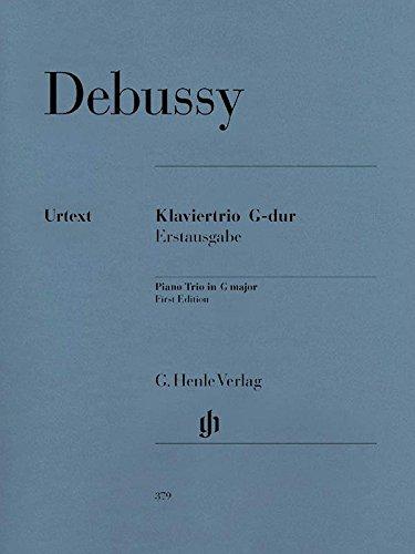Debussy: Piano Trio in G Major (Set of ()