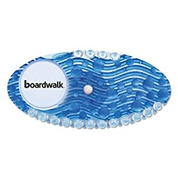 Boardwalk CURVECBL Curve Air Freshener, Cotton Blossom, Blue (Pack of 10)