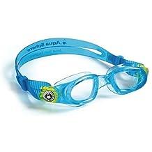 Aqua Sphere Moby Kids Goggles Swimming Easy Adjust Eyewear Protection