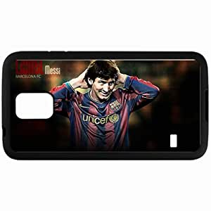 Personalized Samsung S5 Cell phone Case/Cover Skin Messi Lionel Messi FC Barcelona Football Black