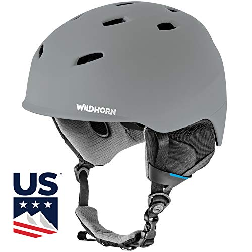 Drift Snowboard & Ski Helmet - US Ski Team Official Supplier - Performance & Safety w/Active Ventilation